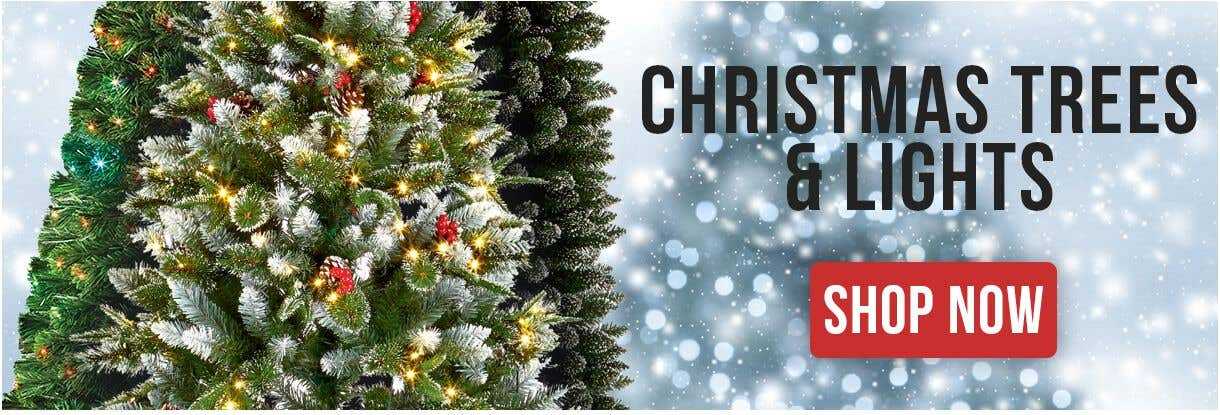 Quality LED Christmas Trees & Lights at Electrical2Go