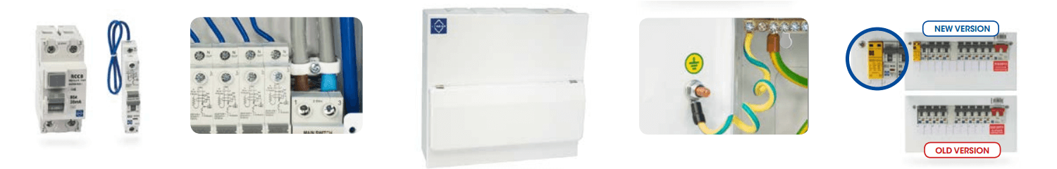 New Lewden Consumer Unit Design Features