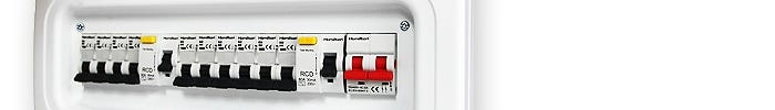 Hamilton Consumer units and circuit protection