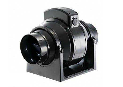 Manrose MF100T Mixed Flow In-Line Extractor Fan with Timer